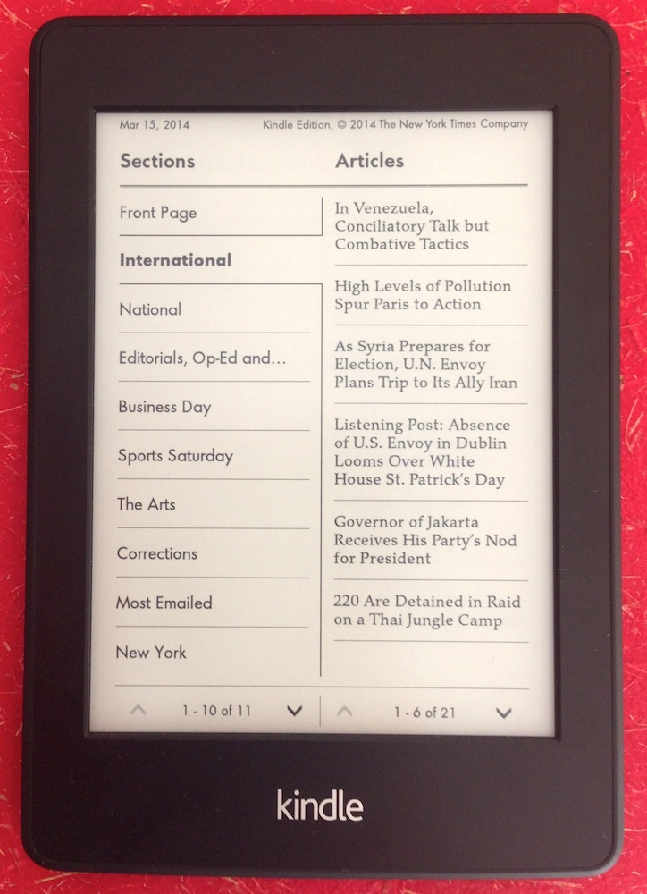 kindle white paper where to buy Like the ipod, the swiffer, or jell-o, the kindle is just what you buy when you want what it does now amazon's working on the white-haired.