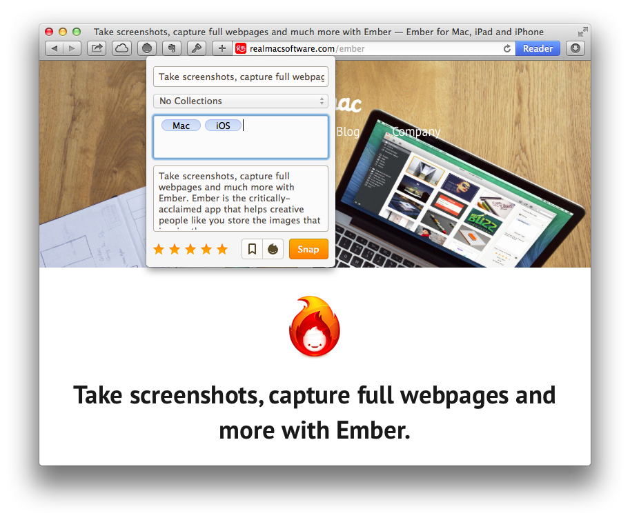 Ember the screenshot app that dared to do more techinch now you should head over to the main ember app where youll see your clipped itemsscreenshots images bookmarks and filesall in the middle of the ccuart Image collections