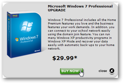 windows 7 student upgrade