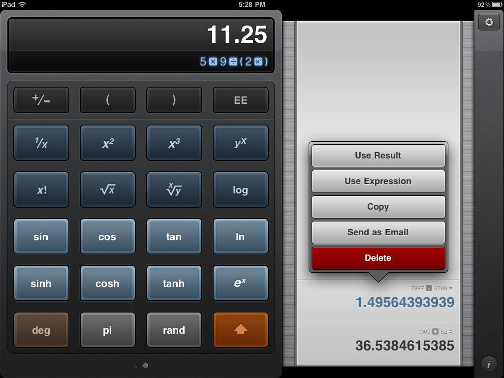 The Calculator That Should have Shipped with iPad - Calcbot | Techinch