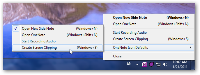 Remove OneNote 2010's Icon From Your System Tray | Techinch
